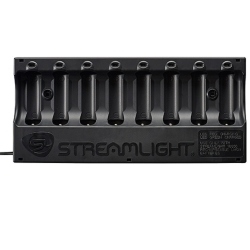Streamlight 20221 18650 Battery 8-unit Bank Charger, No Batteries image
