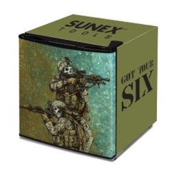 Sunex 17DLGYS Sunex Tools Mini Fridge, Custom Got Your Six Wren image