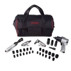 Sunex SX231PBAGPR3 4 Pc Air Tool Kit with Impact Sockets image