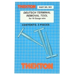 Thexton 583 Deutsch Terminal Removal Tools for 16 gauge wire image