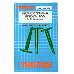 Thexton 584 Deutsch Terminal Removal Tools for 14 gauge wire image