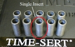 Image Time Sert 10105 5 Pack Replacement Thread Inserts