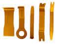 Image Astro Pneumatic 5pc Fastener & Molding Remover Set AP 4505