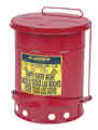 Image Just Rite JUS09100  6 Gallon Oily Waste Can