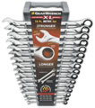 Image KD Tools 85099 GearWrench 16 Piece Metric XL Ratcheting Wrenches