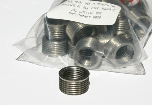 Time Sert 03182 Single Taper Pipe Stainless Steel Insert 3/8-18 image