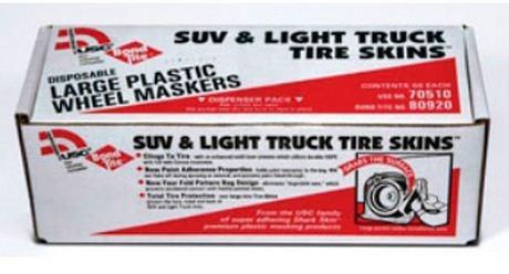 US Chemical 70510 Plastic Wheel Maskers 50/Case image