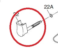 Ingersoll Rand 2115-D93 Trigger Assembly for 2115TI image