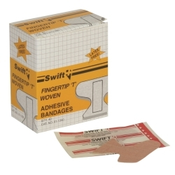 Uvex 011350 First Aid Woven Adhesive Fingertip 'T' Bandage (Bo image