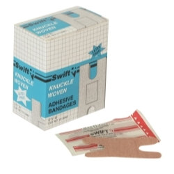 Uvex 013940-H5 First Aid Woven Knuckle Bandages (Box of 40) image