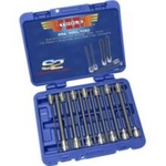 Image Vim Tools HXL100 Extra Long Hex and Ball Hex Driver Set, 14 pc