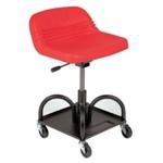 Image Whiteside Mfg HRAS Adjustable Height Mechanic's Seat - Red