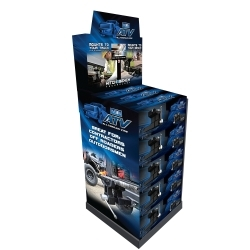 "Wilton 10010K ATV Merchandiser with 7"" Monitor and 15 ATVs image"