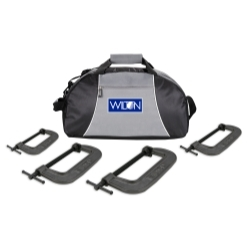 Wilton 4PC540CL Wilton 4pc 540A Series C-Clamp Kit with Duffle Bag image