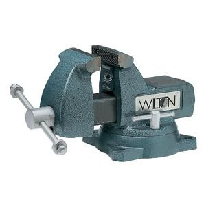 Wilton 744 - 4 Inch Bench Vise with Swivel Base image