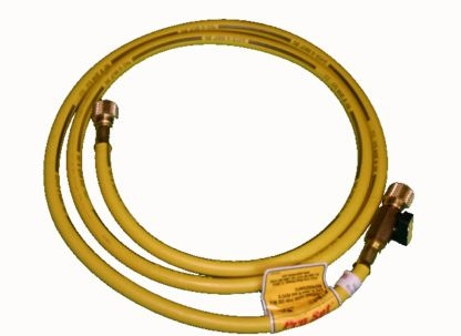 CPS Products HA6Y 6' Yellow Charge Hose 1/2