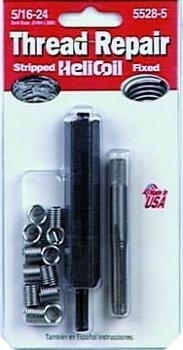 HeliCoil HEL5528-5 Thread Repair Kit for 5/16-24 - 12 Inserts image