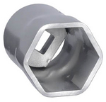Image OTC 1950M Metric Truck Wheel Bearing Locknut Socket