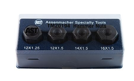 Assenmacher Ball Joint Hammer Nut 4 Pc Set BMW Honda Mercedes Subaru Toyota image