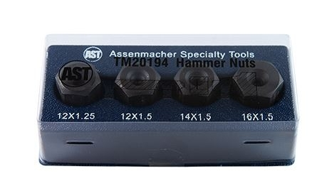 Image Assenmacher Ball Joint Hammer Nut 4 Pc Set BMW Honda Mercedes Subaru Toyota