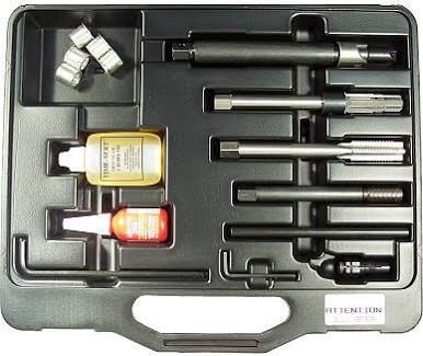 Image TIME-SERT 5553-8 Ford Spark Plug Thread Repair Kit 8-Inserts