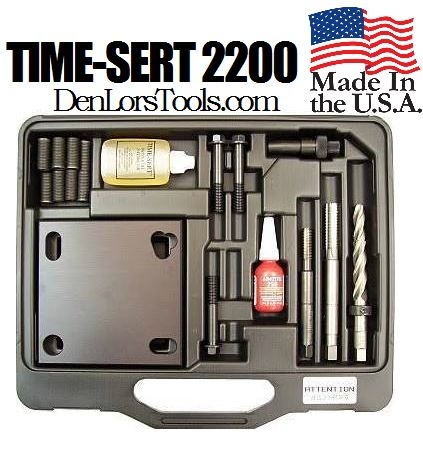 Image TIME-SERT 2200 Toyota Head Bolt Thread Repair Kit