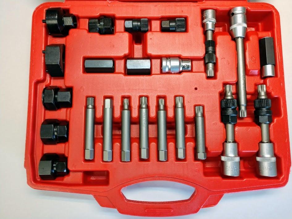 E-Z Red AK411 Alternator Pulley R&R Master Tool Kit image