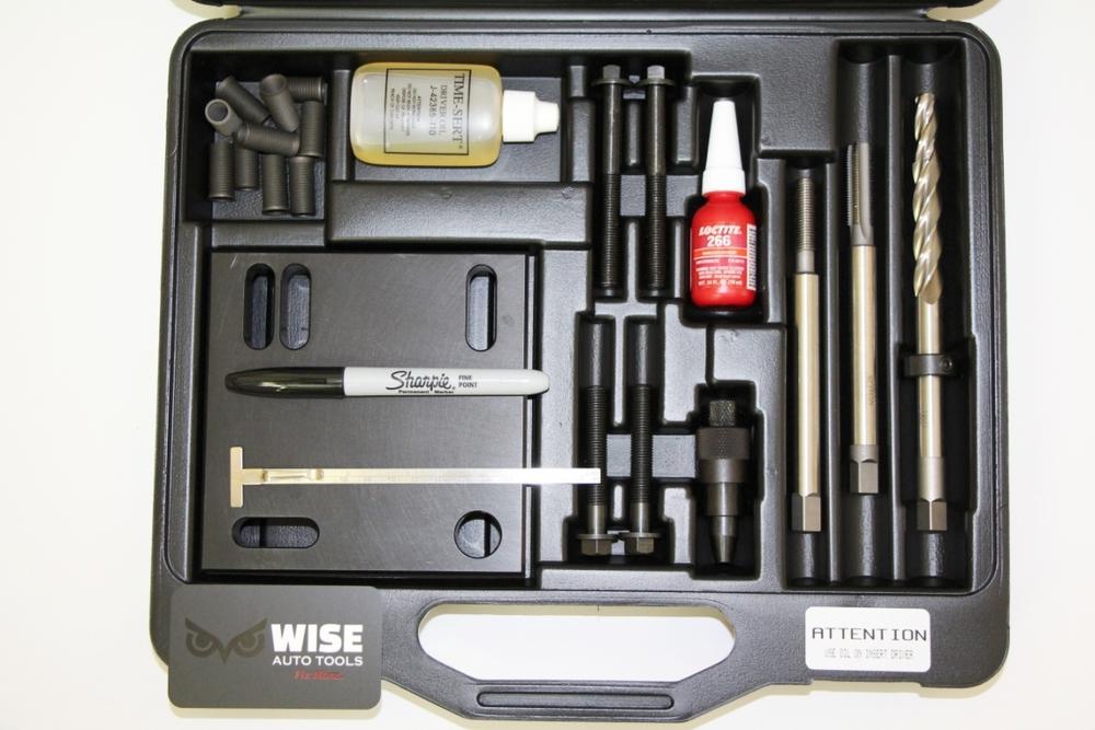 TIME-SERT 6250 Universal 10x1.25mm Nissan Head Bolt Thread Repair Kit image