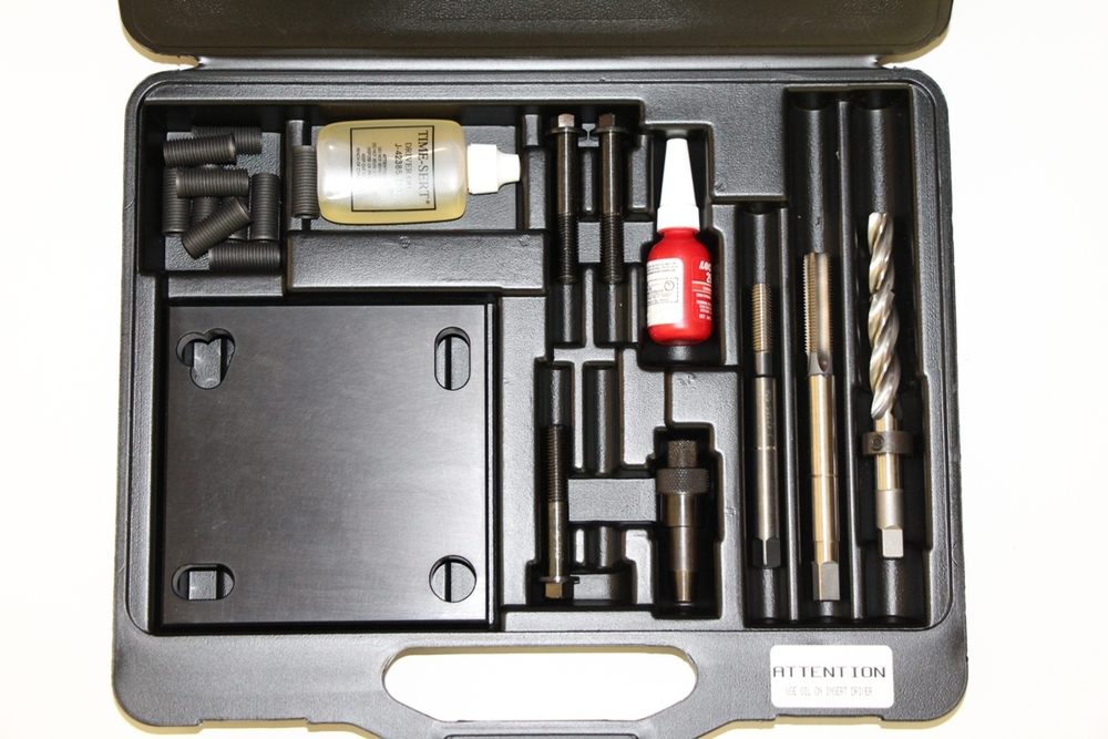 Image TIME-SERT 4900 Universal M12x1.75 Headbolt Hole Thread Repair Kit