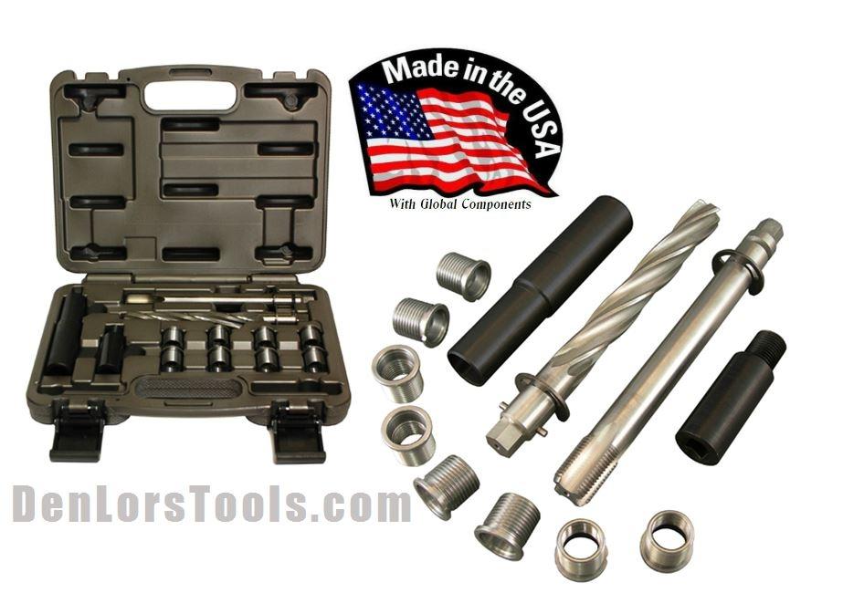 CalVan Tools CAL39300 Ford 3V Spark Plug Thread Insert Kit | Thread