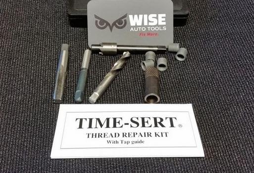 Image TIME-SERT 1812C Oil Drain Plug Repair - Aluminum Pan M8x1.25