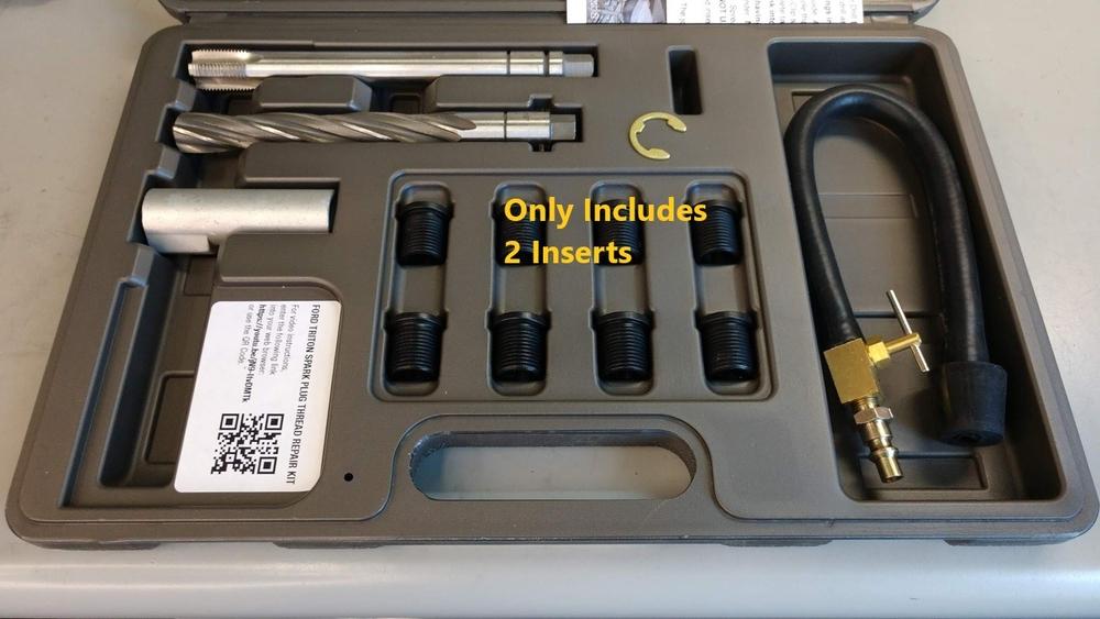 CalVan Tools 38900-2 Ford Spark Plug Thread Repair 2-Inserts image