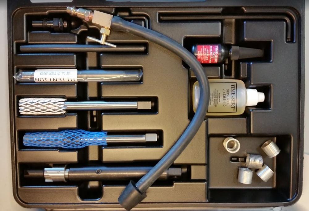 TIME-SERT 5553 Spark Plug Thread Repair Kit w 389-4000 image