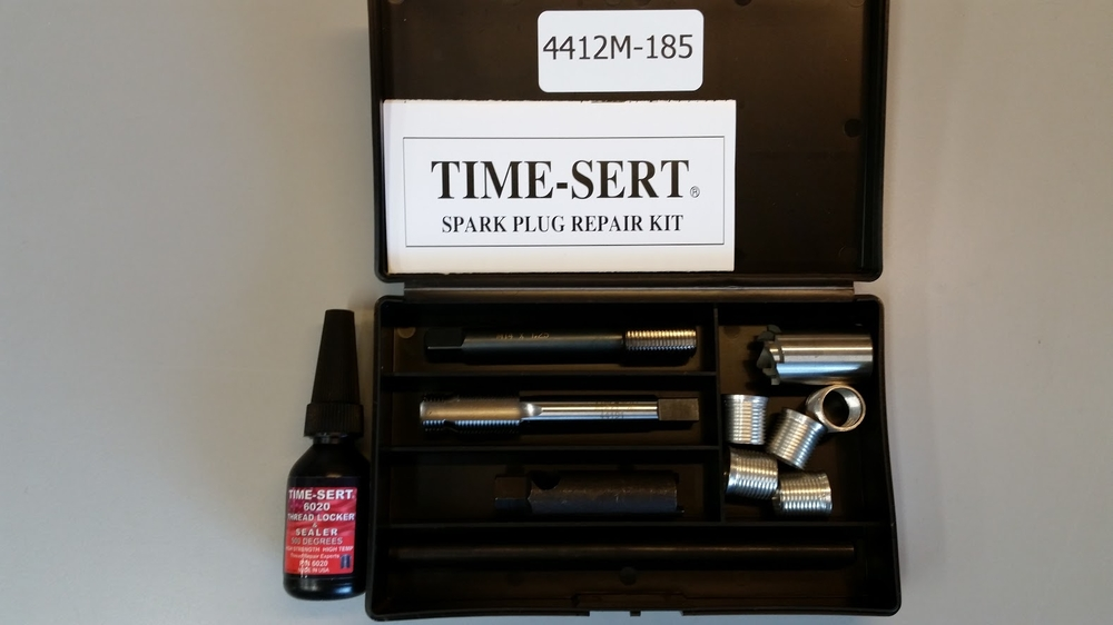 Image TIME-SERT 4412M-185 GM Spark Plug Thread Repair Kit M14x1.25