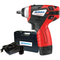 "Image AC Delco ARI12104 G12 Series Li-ion 12V 3/8"" Impact Wrench (90 ft-lb"