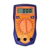 Image Actron CP7665 DIG. MULTIMETER TROUBLE SHOOTING XXX