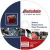 Image Autodata 11-CDX500 Battery Replacement Reset Procedure CD