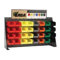 Image Ammco 2125 STEEL WHEEL WEIGHT  ASSORTMENT WITH BENCH TOP RACK