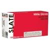 Image  SN48100 Slate Powder Free, Textured, Black Nitrile Gloves, XLarge