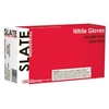 Image  SN49100 Slate Powder Free, Textured, Black Nitrile Gloves, XXLarge