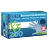 Image  X3D46100 Xtreme X3200 Powder Free, Blue Nitrile Gloves, Large