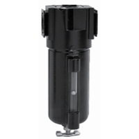"Image Arrow Pneumatic PF354W5-S75 1/2"" 5 Micron Filter Metal Bowl/Sight Glass"