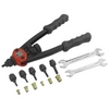 "Image Astro Pneumatic 1442 13"" Nut/Thread Hand Riveter Kit w/ Nosepiece Set"