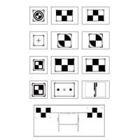 Image Autel LDWTARGET1 Targets and Holder for LDW Calibration