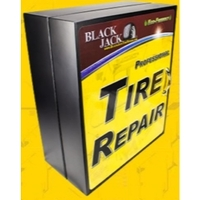 Image Blackjack AS-910 Stocked Tire Repair Cabinet, Heavy Duty Assortment