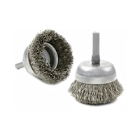 Image Brush Research BNH1612 1-3/4 STEEL CUP BRUSH