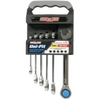 Image Channellock 38036 6 PC. Uni-Fit Ratcheting Wrench Set