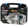 Image Channellock 38054 24 PC. Uni-Fit Socket Set