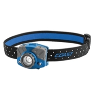 Image Coast 20617 FL75R Rechargeable Headlamp blue body in gift box