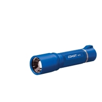 Image Coast 21527 HP7R Rechargeable Flashlight blue body in gift box